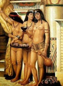 Prostitutas de Egipto