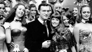 Hugh Hefner fiesta y conejitas
